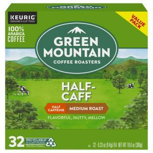 Green Mountain Half-Caff Medium Roast K-Cups