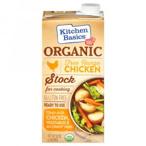 Kitchen Basics Organic Chicken Stock for Cooking Gluten Free