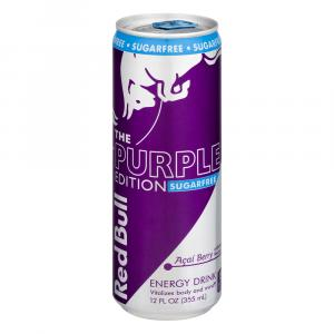 Red Bull Purple Edition Sugar Free Acai Berry Energy Drink