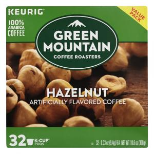 Green Mountain Coffee Hazelnut K-Cup Value Pack