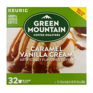 Green Mountain Coffee Caramel Vanilla Cream K-Cup Value Pack