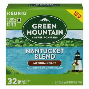 Green Mountain Coffee Nantucket Blend K-Cups Value Pack