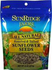 SunRidge Farms Roasted & Salted Sunflower Seeds