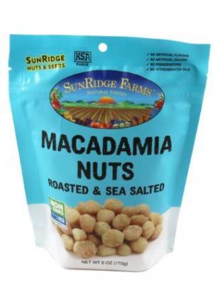 SunRidge Farms Roasted & Sea Salted Macadamia Nuts