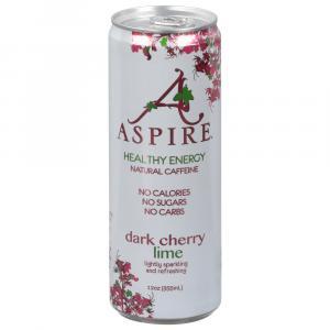 Aspire Dark Cherry Lime Energy Drink