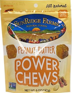 Sunridge Farms Peanut Butter Power Chews