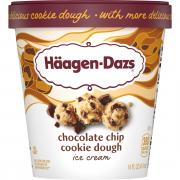 Haagen-Dazs Cookie Dough Ice Cream