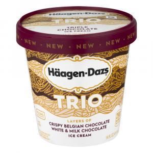 Haagen-Dazs Trio Triple Chocolate