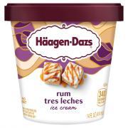 Haagen-Dazs Spirits Rum Tres Leches Ice Cream