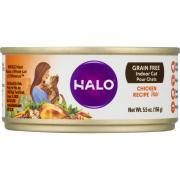 Halo Grain Free Chicken Recipe Pate Indoor Cat