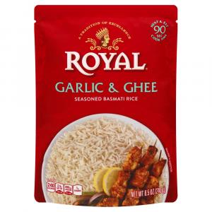 Royal Garlic & Ghee Rice