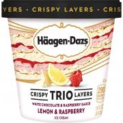 Haagen Dazs Trio Lemon & Raspberry White Chocolate