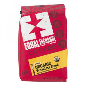 Equal Exchange Organic Breakfast Blend Ground Coffee