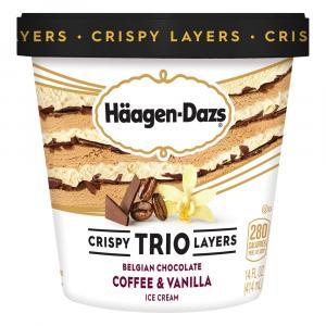 Haagen-Dazs Trio Vanilla Chocolate Coffee