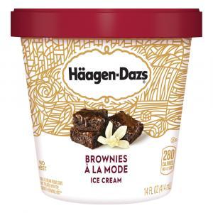 Haagen-dazs Brownie A La Mode Ice Cream