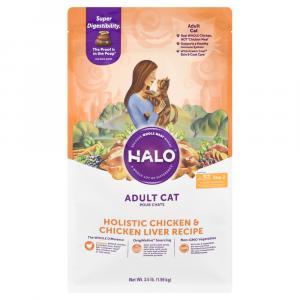 Halo Adult Cat Holistic Chicken & Chicken Liver Recipe