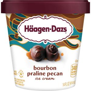 Haagen-Dazs Spirits Bourbon Vanilla Bean Truffle Ice Cream