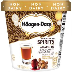 Haagen-Dazs Non-Dairy Spirits Amaretto Black Cherry Almond