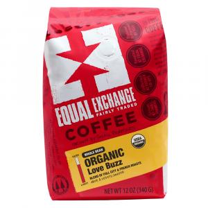Equal Exchange Organic Love Buzz Whole Bean Coffee