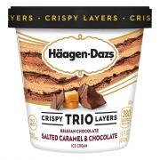 Haagen-Dazs Trio Salted Caramel Chocolate