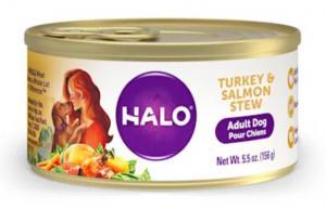 Halo Adult Turkey & Salmon Wet Dog Food