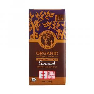 Equal Exchange Organic 55% Cacao Caramel Dark Chocolate
