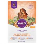 Halo Adult Holistic Chicken & Chicken Liver Dry Dog Food