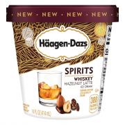 Haagen-Dazs Spirits Whiskey Hazelnut Latte Ice Cream