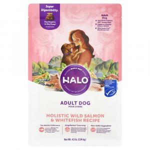 Halo Adult Holistic Wild Salmon & WhiteFish Dry Dog Food
