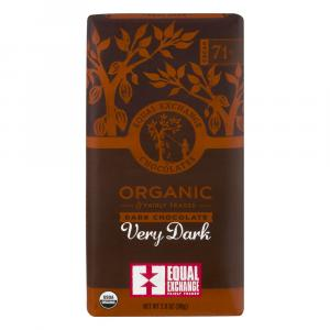 Equal Exchange Organic 71% Cacao Very Dark Chocolate