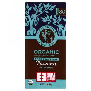 Equal Exchange Organic 80% Cacao Panama Extra Dark Chocolate