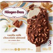 Haagen-Dazs Vanilla Almond Ice Cream Bars