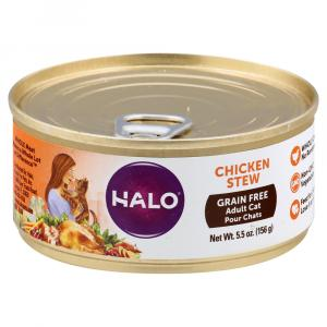 Halo Grain Free Chicken Stew Adult Cat