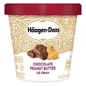 Haagen-Dazs Chocolate Peanut Butter Ice Cream
