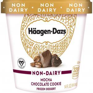 Haagen-Dazs Non-Dairy Mocha Chocolate Cookie Frozen Dessert