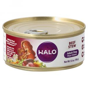 Halo Adult Beef Stew Wet Dog Food