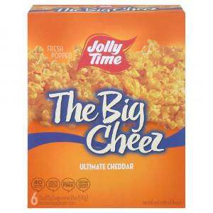 Jolly Time The Big Cheese Ultimate Cheddar Microwave Popcorn