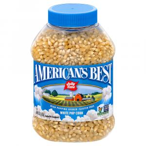 American's Best Jolly Time White Popcorn