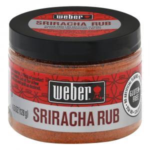 Weber Sriracha Rub