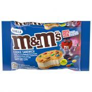 M&M's Vanilla Ice Cream Cookie Sandwich
