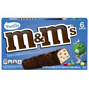 M&m's Brand Ice Cream Bars