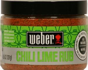 Weber Chili Lime Rub