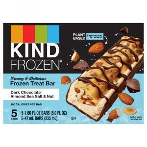 Kind Frozen Dark Chocolate Almond Sea Salt