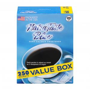 Natrataste Zero Calorie Sweetener Packets
