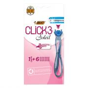 BIC Simply Soleil Click 1 Handle with 6 Cartridges