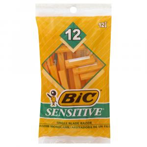 Bic Sensitive Skin Shavers
