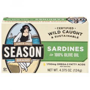 Season Sardines In Pure Olive Oil