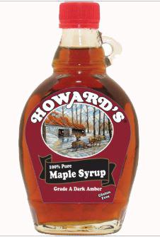 Howard's 100% Pure Maple Syrup