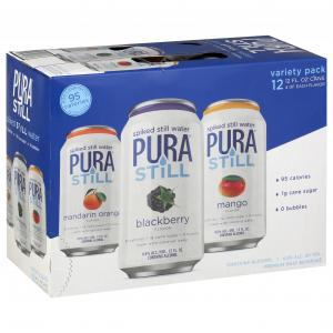 Pura Still Spiked Still Water Variety Pack