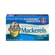 Season Skinless Boneless Mackerel in Olive Oil